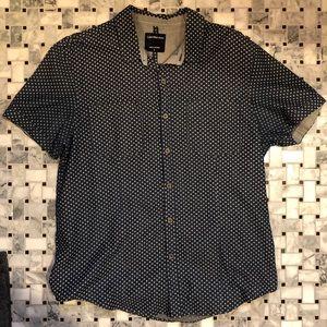 Men's Calvin Klein short sleeve button up